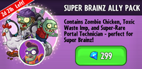 Super Brainz Ally Pack Promotion