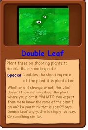 Double Leaf