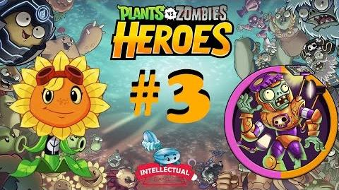 Plants vs Zombies Heroes Part 3 Solar Flare in Junkyard Ambush