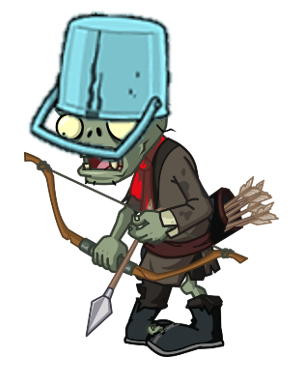 File:Blue Bucket Archer Zombie.png