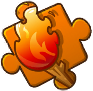 Torch Puzzle Piece Level 4