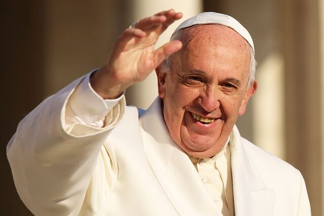 File:Pope Francis 1 at the general audience in St Peters Square Dec 16 2015 Credit Daniel Ibanez CNA 12 16 15-1-.jpg