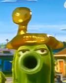 Gold Inlfatable Monster 2