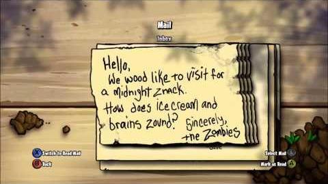 Mail Plants Vs Zombies Wiki Fandom Powered By Wikia