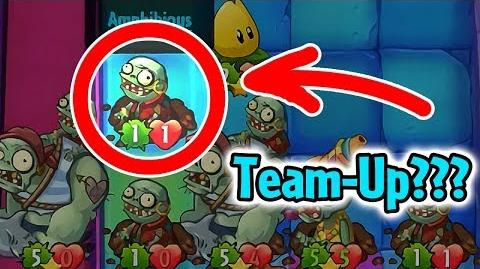 Plants vs Zombies Heroes - Zombie Team-Up Glitch with Fails in Daily Challenge-0