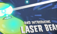 11111Laser Bean in trailer