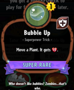 Bubble Up statistics