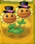 File:Twin Sunflower on Gold Tile.png