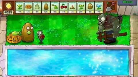 Plants vs Zombies - Gargantuar Imp HP test