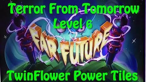 Terror From Tomorrow Level 6 TwinFlower Power Tiles Plants vs Zombies 2 Endless