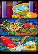 Impfinity's Wild Ride ending comic strip