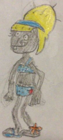 File:Bikini Zombie Sketch by PP.jpeg