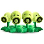 Great-plants-vs-zombies-toys-4-expressions-peashooter-group-plush-toys TW23926 s