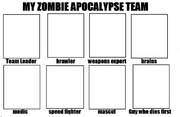 My Zombie Apocalypse Team Base