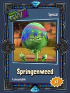 Springenweed Sticker