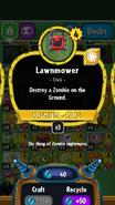 Lawnmower stats