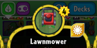 Lawnmower (PvZH)/Gallery