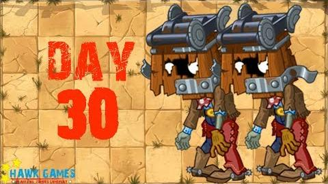 Plants vs Zombies 2 - Wild West - Day 30