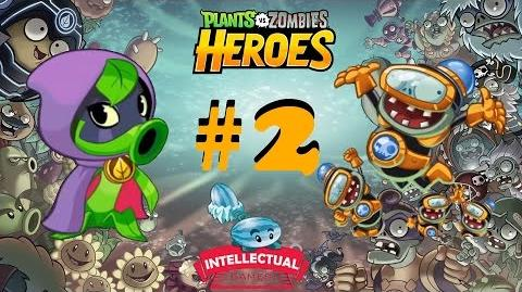 Plants vs Zombies Heroes Part 2 Green Shadow in Impfinity Wild Ride