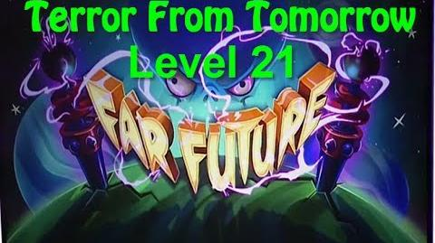 Terror From Tomorrow Level 21 Plants vs Zombies 2 Endless