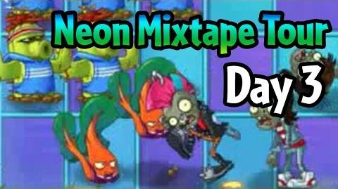 Plants vs Zombies 2 - Neon Mixtape Tour Day 3 (Beta) Cactus