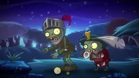 Plants Vs Zombies 2 Dark Ages Trailer-0