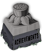 Achievements pedestal