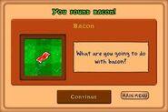 U found bacon