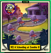 A Schooling at Zombie U locked