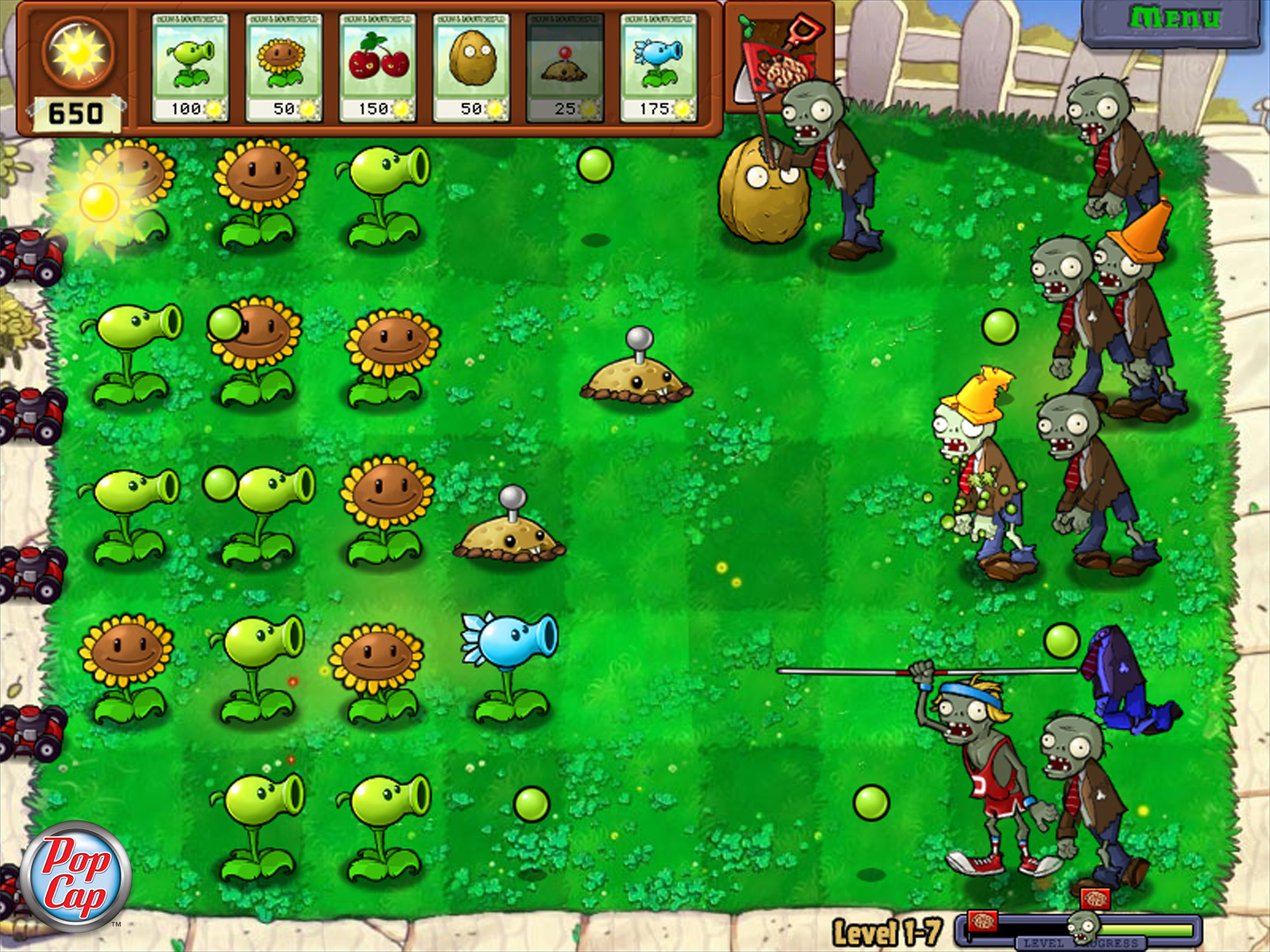 Lawn | Plants vs. Zombies Wiki | FANDOM powered by Wikia