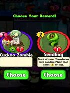 Choice between Cuckoo Zombie and Seedling