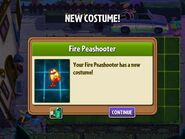 Getting Fire Peashooter's Costume