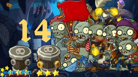 PvZ Online - Adventure Mode - Treasure Cave 14