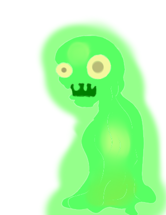 File:Zombie Slime thing fanart.png
