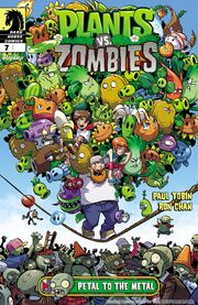 Plants vs Zombies Petal to the Metal Title
