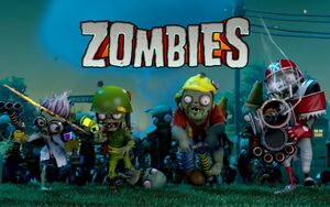 Zombies Plants Vs Zombies Garden Warfare Plants Vs