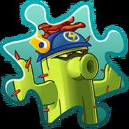 Cactus Costume Puzzle Piece