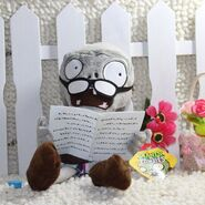Newspaper zombie plush