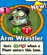 Receiving Arm Wrestler