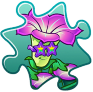 Morningglory Costume Puzzle Piece