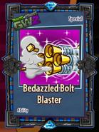 Bedazzled bolt blaster sticker