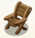 File:Wooden Patio Chair.png