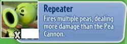 Pea Repeater