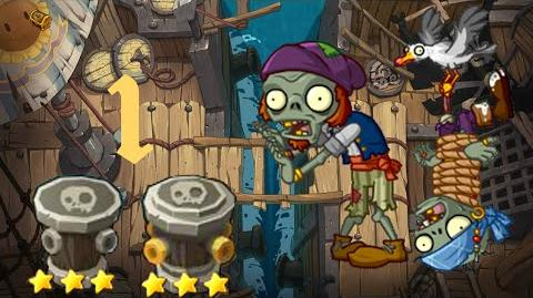 PvZ Online - Adventure Mode - Jia Banhai Shore 1