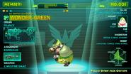 Green's profile