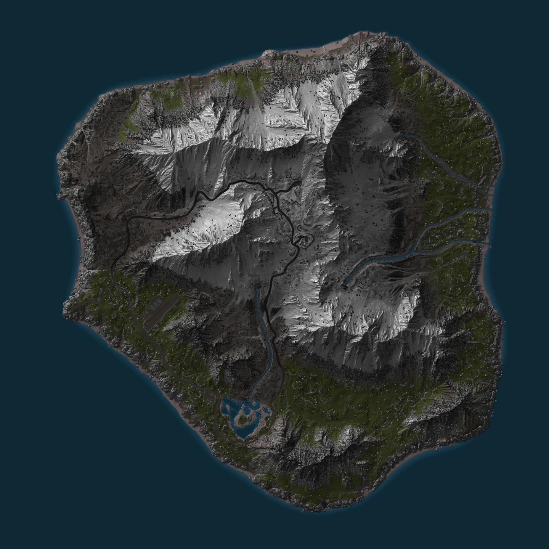 Rust Hapis Island Map