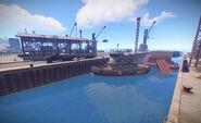 Harbor tugboat