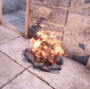 Campfirelit