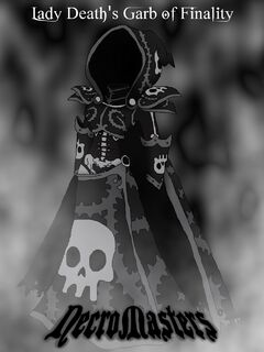 Lady Death's Garb of Finality