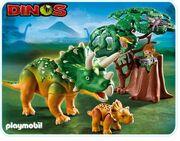 5234-playmobil-triceratops-met-jong